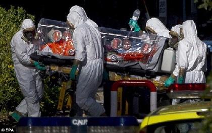 エボラ出血熱の症状末期について...